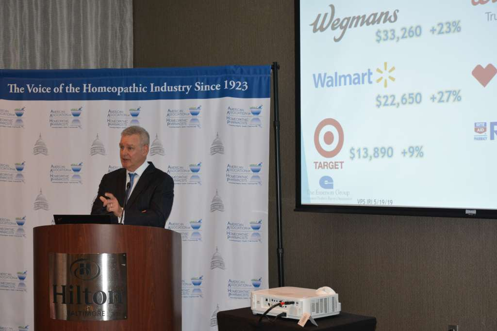 Event sponsor Scott Emerson of the Emerson Group