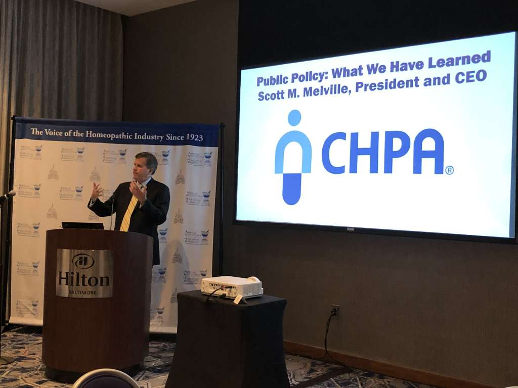 Scott Melville of the Consumer Healthcare Products Association